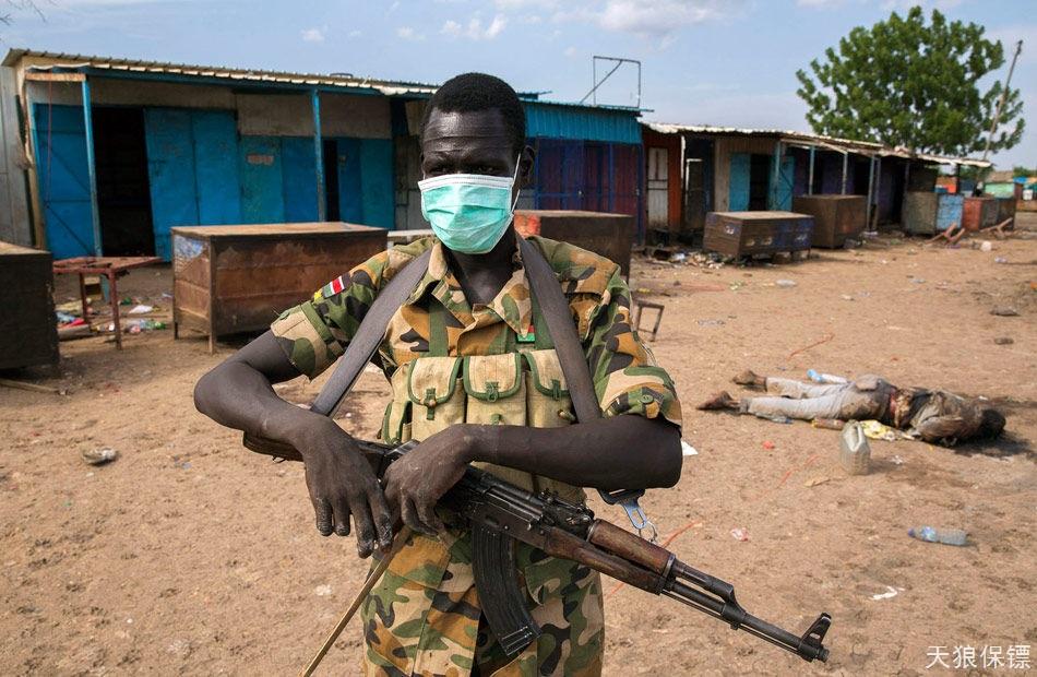 南苏丹反政府武装屠杀平民 数百人遇难(高清组图)
